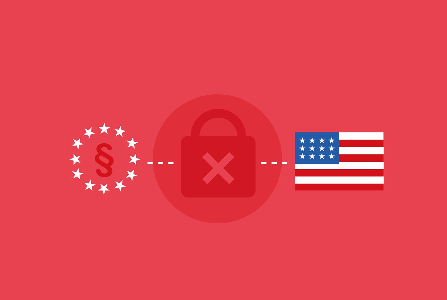 Datentransfer USA